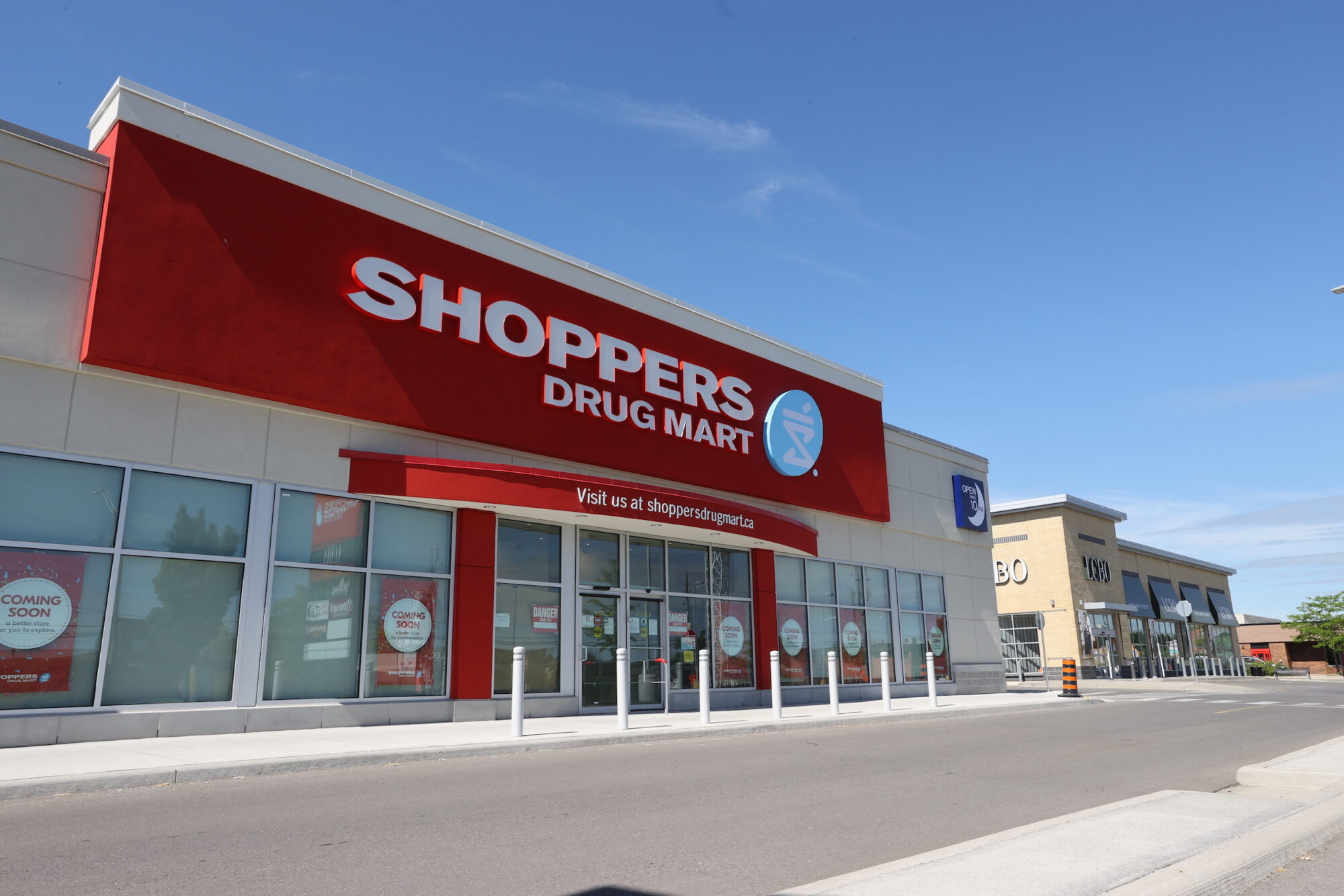 Exterior view of Shoppers Drug Mark